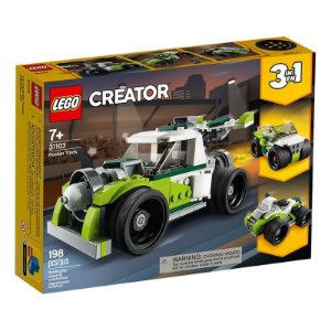 CAMINHAO-FOGUETE - 31103 - LEGO