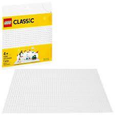 BASE DE CONSTRUCAO BRANCA - 11010 - LEGO
