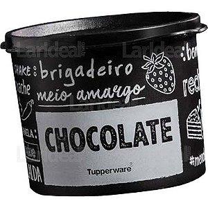 Tupper Caixa Chocolate Pb Tamanho Grande 2,4l Tupperware
