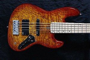 Super Jazz Bass 5C modelo 2 -  Sunburst