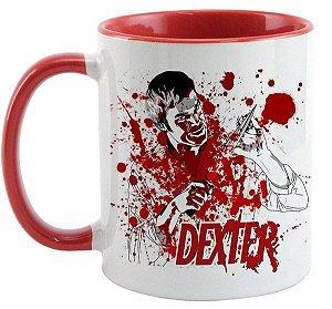 Caneca Personalizada de Porcelana - Seriado Dexter