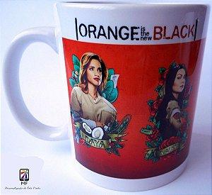 Caneca Porcelana Personalizada Orange is The News Black