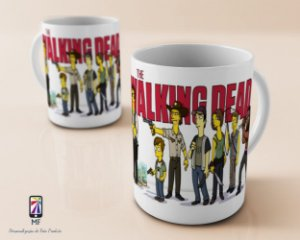 Caneca Personalizada de Porcelana - The Walking Dead (MOD 1)