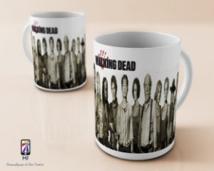 Caneca Personalizada de Porcelana - The Walking Dead (MOD 2)