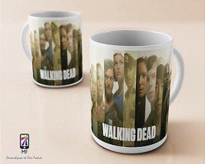 Caneca Personalizada de Porcelana - The Walking Dead (MOD 3)