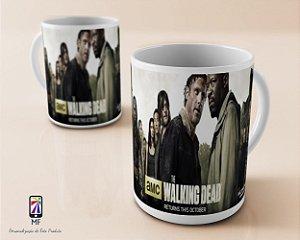 Caneca Personalizada de Porcelana - The Walking Dead (MOD 4)