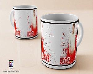 Caneca Personalizada de Porcelana - Seriado Dexter (MOD 2)