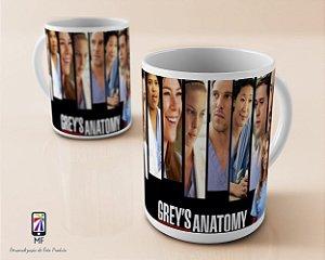 Caneca Personalizada de Porcelana Grey's Anatomy (MOD5)
