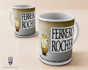Caneca Personalizada de Porcelana - Chocolate FERRERO ROCHER