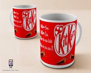 Caneca Personalizada de Porcelana - Chocolate KIT KERO