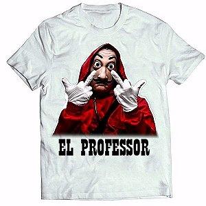 Camisa Personalizada - La Casa de Papel  EL PROFESSOR(MOD 2)