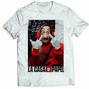Camisa Personalizada - La Casa de Papel  (MOD 3)
