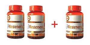Regenera Colágeno Hidrolisado - Pague 2 Leve 3 Frascos, 90 cápsulas com 1300 mg cada