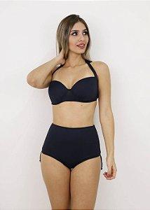 Biquíni Plus Size Casquinha Preto