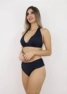 Biquíni Plus Size Cortinão Preto
