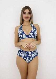 Biquíni Plus Size Cortinão Blue Floral