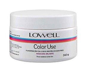 Lowell Color Use Máscara selante tratamento 240g