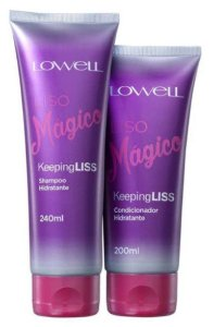Lowell Keeping Liss Liso Mágico Kit Shampoo E Condicionador Hidratante