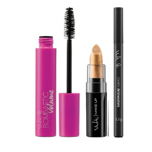 Kit Vult Make Up Bombastic Volume Batom 08 caneta delineadora