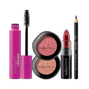 Vult Make Up Kit Bombastic blush lapis e Batom