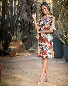 Vestido Estampado Camila