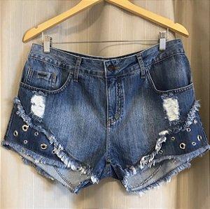 Short Jeans Ilhós