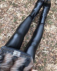 Legging Couro Eco