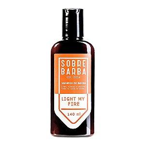 Shampoo para Barba Sobrebarba Light My Fire 140ml