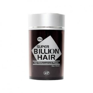 Disfarce Para Calvície Preto 25g Super Billion Hair