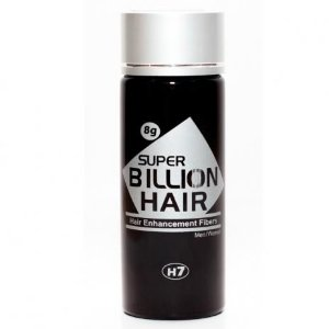 Disfarce Para Calvície Preto 8g Super Billion Hair
