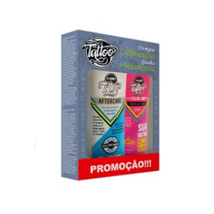 Kit Hidratante para tatuagem Mboah Tattoo Color Care + After Care 36ml