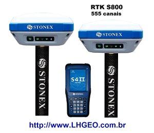 S800 GNSS GPS RTK Stonex - 555 canais