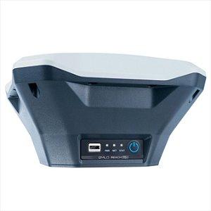 Receptor REACH RS + RTK GNSS com aplicação como controlador