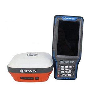 GPS RTK Stonex S3A - 394 canais com Sensor de Inclinação