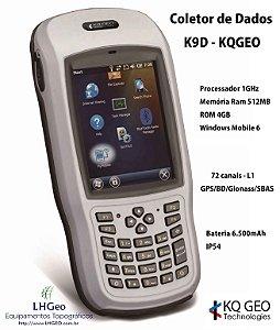 Coletor de Dados K9D para GPS RTK