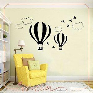 Adesivo Decorativo Balões Infantil