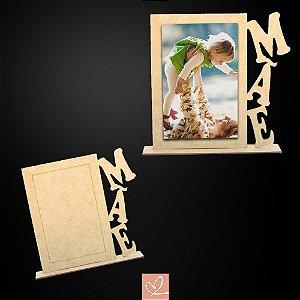 Porta-Retrato Mãe em MDF CRU