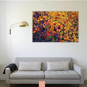 Quadro em Tela Canvas Geométric Colors