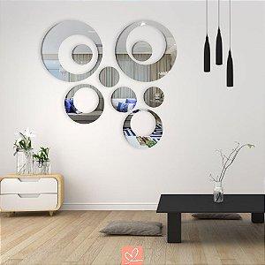 Espelho Decorativo 9 Bolas