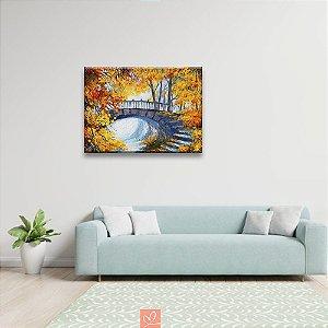 Quadro em Tela Canvas Pintura a Ponte