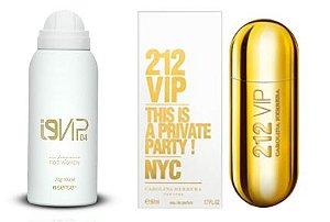 Perfume Aerossol i9Vip 04 - Ref. 212 Vip