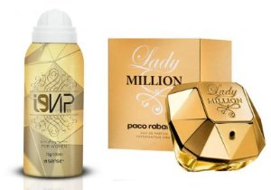 Perfume Aerossol i9Vip 08 - Ref. Lady Million