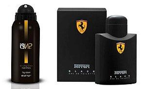 Perfume Aerossol i9Vip 01 - Ref. Ferrari Black