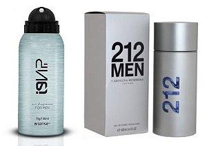 Perfume Aerossol i9Vip 11 - Ref. 212 Men