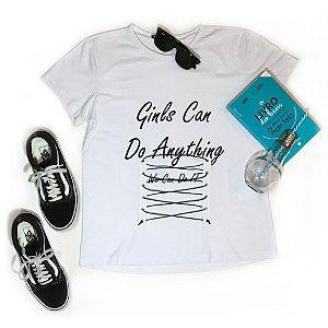 T-shirt Girls can do