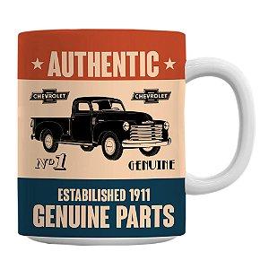 Caneca General Motors Retrô Genuine Parts