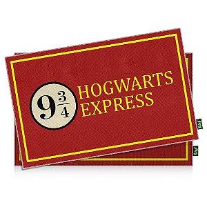 Jogo Americano Hogwarts Express - 2 peças