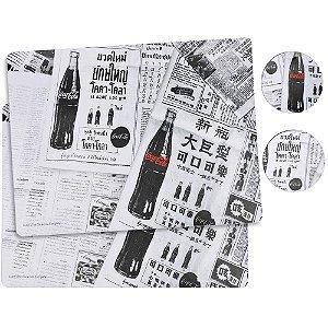 Jogo Americano Jornal Coca-Cola - 4 peças