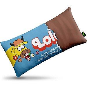 Almofada Retrô Chocolate Lolol edição especial Naked