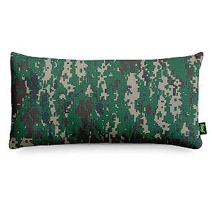 Almofada Camuflada Digital Ambiental - pequena